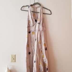 Anthropologie maxi dress
